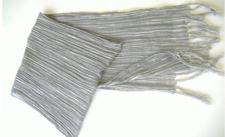 ストライプコットンガーゼストール(全5色)